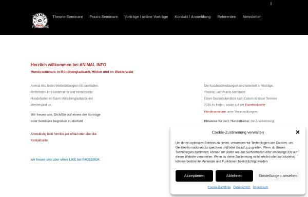 Vorschau von www.animal-info.de, Animal Info