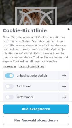 Vorschau der mobilen Webseite www.gfh-wolfswinkel.de, GfH Wolfswinkel