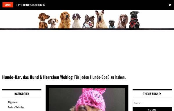 Vorschau von www.hunde-bar.de, Hunde-Bar