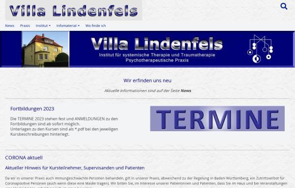 Vorschau von www.villa-lindenfels.de, Villa Lindenfels - Institut für systemische Therapie und Traumatherapie
