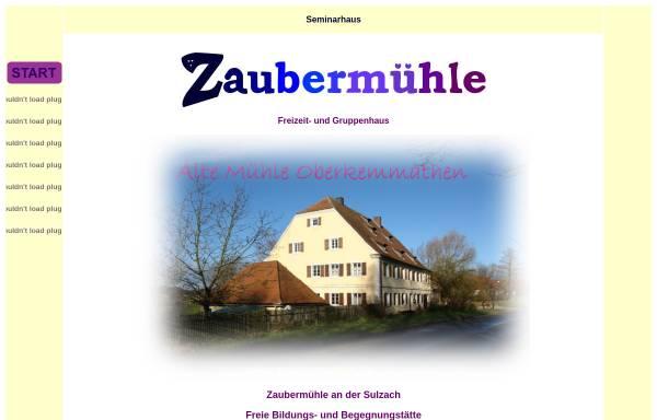Vorschau von www.zaubermuehle.de, Seminarhaus Zaubermühle