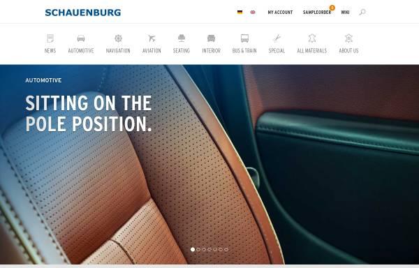 Vorschau von www.schauenburg-leder.de, Schauenburg GmbH