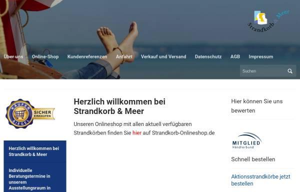 Vorschau von www.strandkorb-und-meer.de, Pries, Corina - Strandkorb & Meer