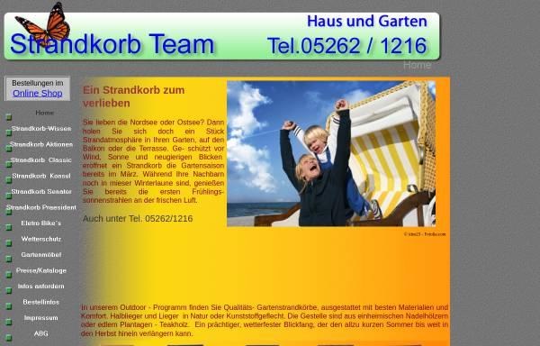 Vorschau von www.strandkorb-team.de, Schröder, Angelika - Strandkorb-Team