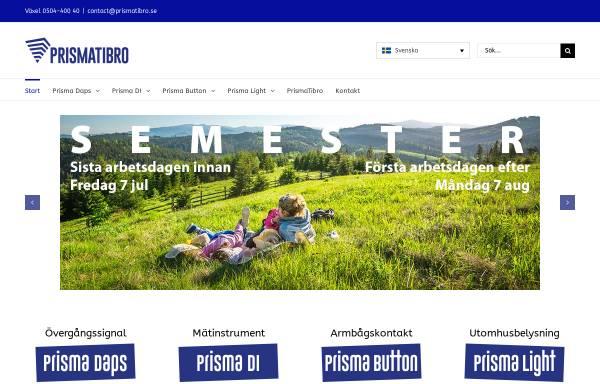 Vorschau von www.prismateknik.se, Prisma Teknik AB