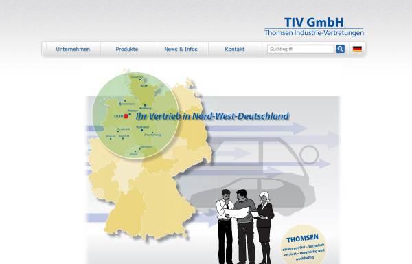 Vorschau von www.thomsen-stuhr.de, Thomsen GmbH & Co. KG