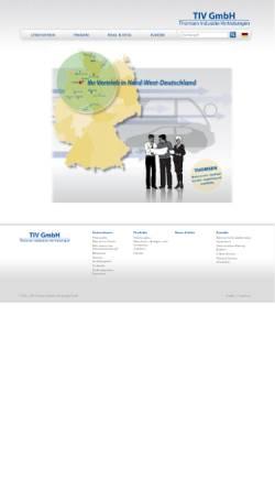 Vorschau der mobilen Webseite www.thomsen-stuhr.de, Thomsen GmbH & Co. KG
