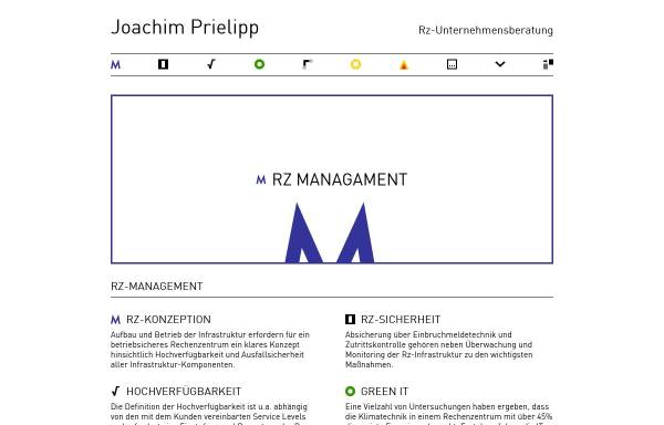 Vorschau von www.prielipp.de, DV-Beratung Joachim Prielipp