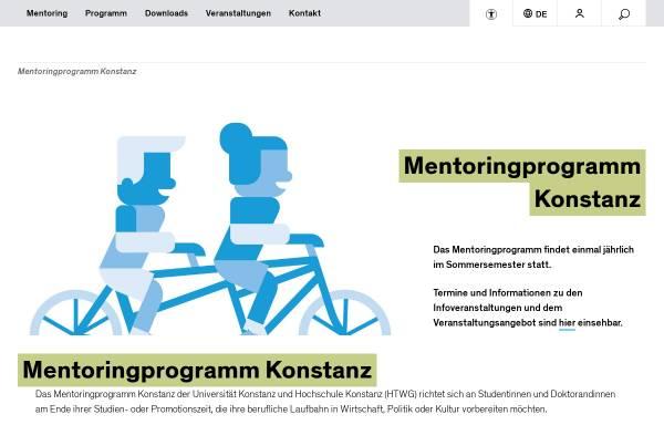 Vorschau von mentoringprogramm-konstanz.de, Mentoringprogramm Konstanz