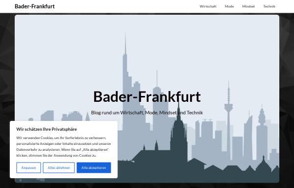 Vorschau von www.bader-frankfurt.de, Bader, Rene
