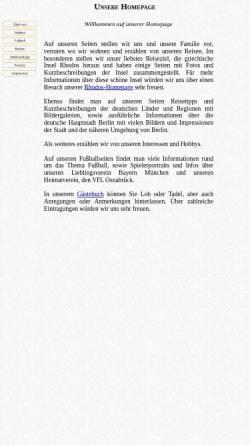 Vorschau der mobilen Webseite www.gbadura.de, Badura, Valeria und Gerd