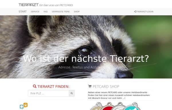 Vorschau von www.tierarzt.at, Tierarzt online