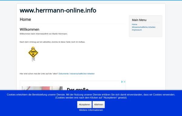Vorschau von www.herrmann-online.info, Herrmann, Martin