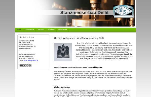 Vorschau von www.stanzmesserbau-dellit.de, Stanzmesserbau Bernd Dellit