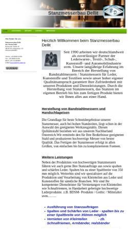 Vorschau der mobilen Webseite www.stanzmesserbau-dellit.de, Stanzmesserbau Bernd Dellit