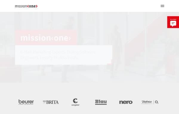 Vorschau von www.mission-one.de, Mission One eRelations AG