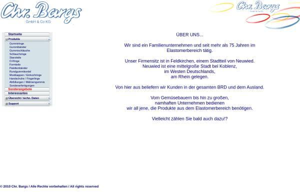 Vorschau von www.bargs.de, Chr. Bargs GmbH & Co. KG