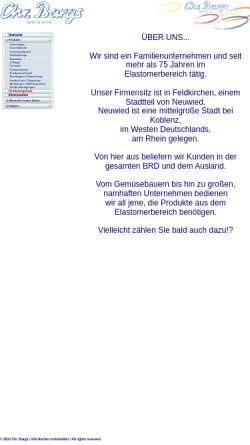 Vorschau der mobilen Webseite www.bargs.de, Chr. Bargs GmbH & Co. KG
