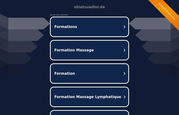 Vorschau von www.shiatsuadler.de, Adler Alexandra