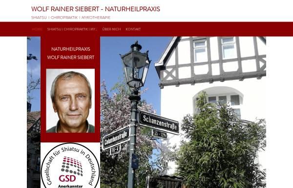 Vorschau von www.siebert-shiatsu.de, Siebert Wolf Rainer