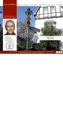 Vorschau der mobilen Webseite www.siebert-shiatsu.de, Siebert Wolf Rainer