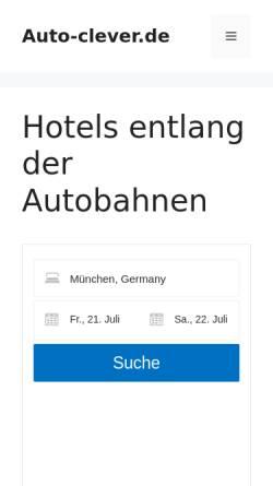 Vorschau der mobilen Webseite www.auto-clever.de, Auto-clever.de