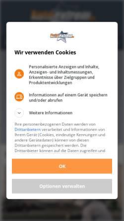 Vorschau der mobilen Webseite www.autoextrem.de, AutoExtrem.de