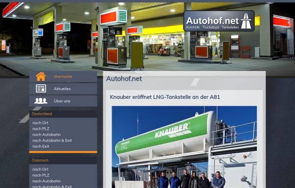 Vorschau von www.autohof.net, Autohof.net