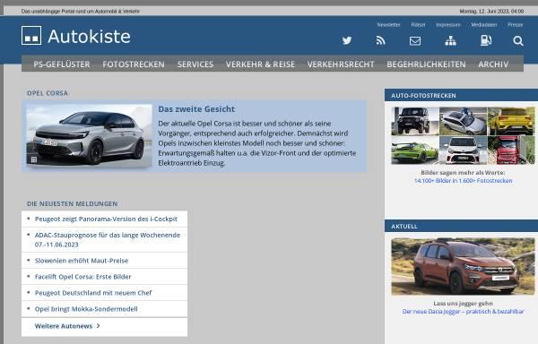 Vorschau von www.autokiste.de, Autokiste