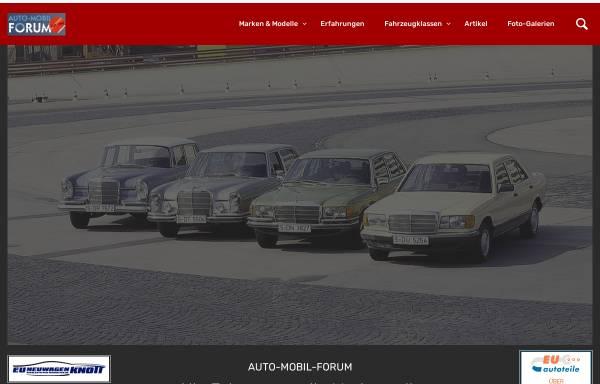 Vorschau von www.auto-mobil-forum.de, Auto-Mobil-Forum.de