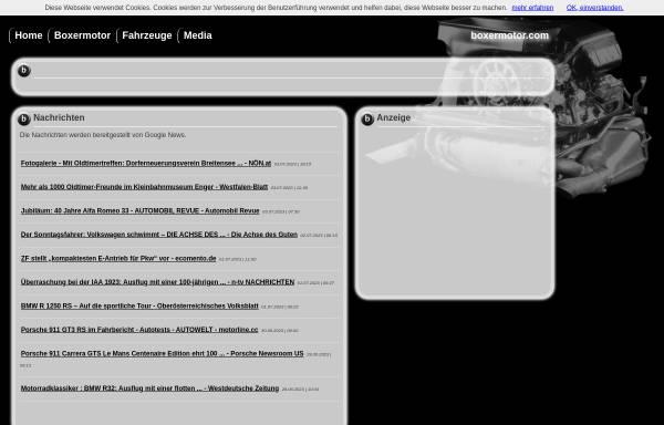 Vorschau von www.boxermotor.com, boxermotor.com