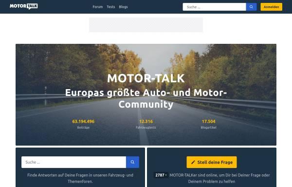 Vorschau von www.motor-talk.de, Motor-Talk