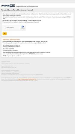 Vorschau der mobilen Webseite www.motor-talk.de, Motor-Talk