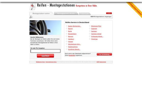 Vorschau von www.reifen-montagestationen.de, Reifen-Montagestationen.de