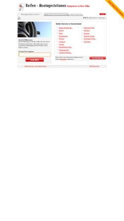 Vorschau der mobilen Webseite www.reifen-montagestationen.de, Reifen-Montagestationen.de