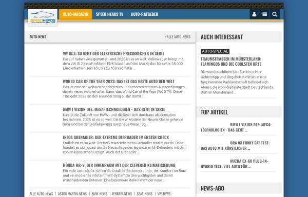 Vorschau von www.speedheads.de, Speed-Heads