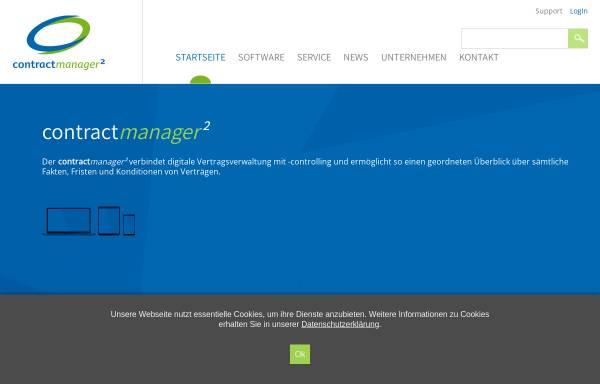 Vorschau von www.contractmanager.de, CM Software & Consulting GmbH - Vertragsmanagement