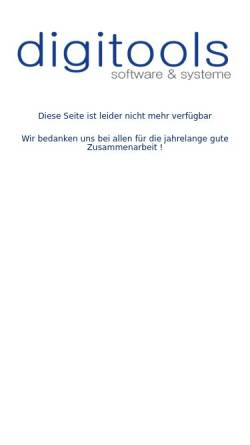 Vorschau der mobilen Webseite www.digitools.de, DigiTools Software GbR