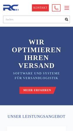 Vorschau der mobilen Webseite www.rhenania-computer.de, Rhenania Computer GmbH