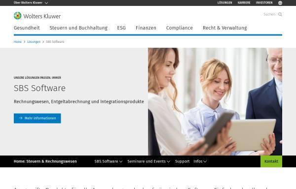Vorschau von www.sbs-software.de, SBS Software GmbH