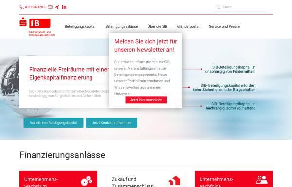 Vorschau von www.sib.de, SIB Software Engineering GmbH