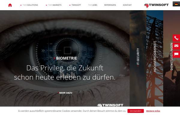 Vorschau von www.twinsoft.de, TWINSOFT GmbH & Co. KG