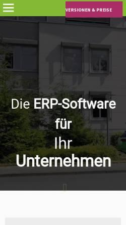 Vorschau der mobilen Webseite www.vario-software.de, Vario Software Entwicklung GmbH