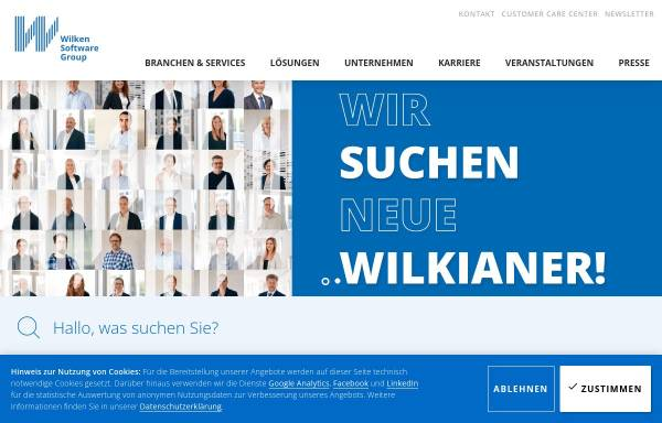 Vorschau von www.wilken.de, Wilken GmbH