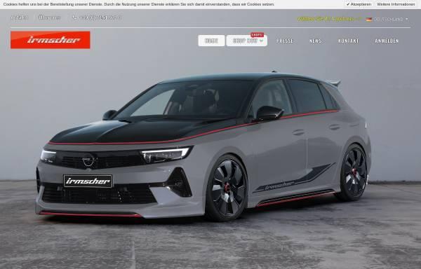 Vorschau von www.irmscher.com, Irmscher Automobilbau GmbH & Co.KG