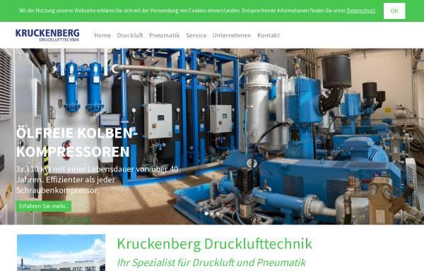 Vorschau von www.kruckenberg-druckluft.de, Kruckenberg Drucklufttechnik GmbH