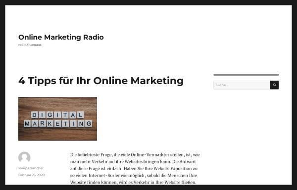 Vorschau von www.radio4humans.de, Radio 4 Humans