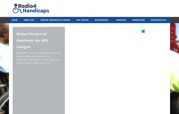 Vorschau von radio4handicaps.de, Radio4Handicaps