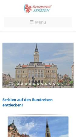 Vorschau der mobilen Webseite www.ns-geotours.com, Jagd in Ungarn (Nagybaráti - SW-Ungarn)