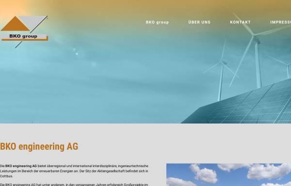 Vorschau von www.bkoag.de, BKO Engineering AG